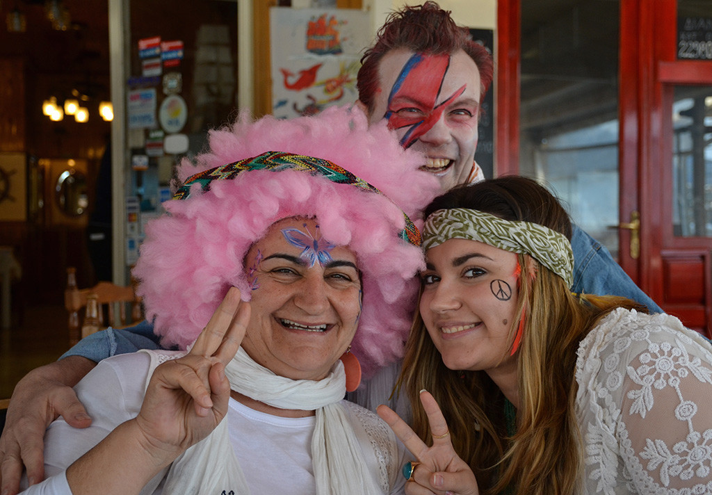 Katerina-and-her-family-during-Greek-Carnival-Apokries-Poros