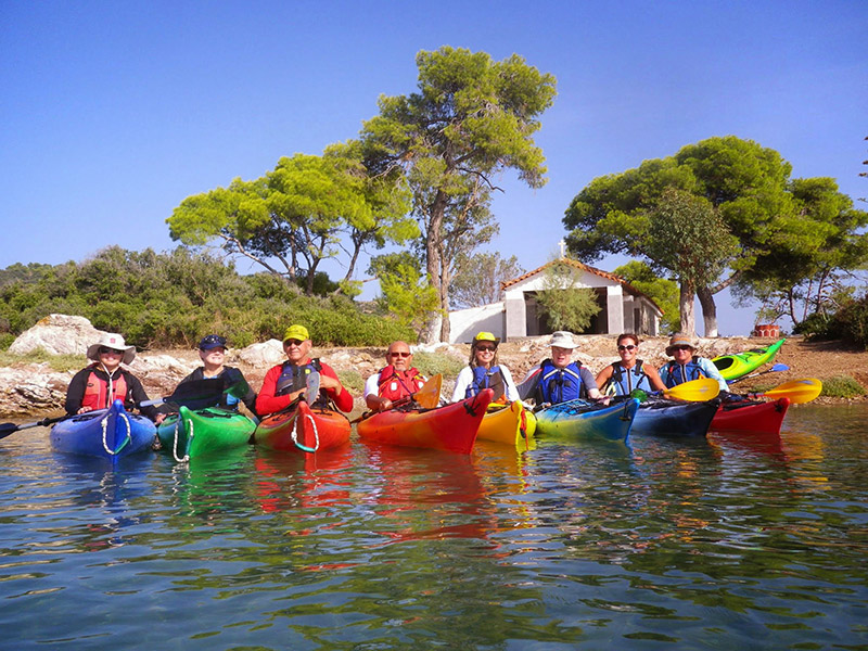 Brians-sea-kayak-group-at-teachers-island-Poros-Greece