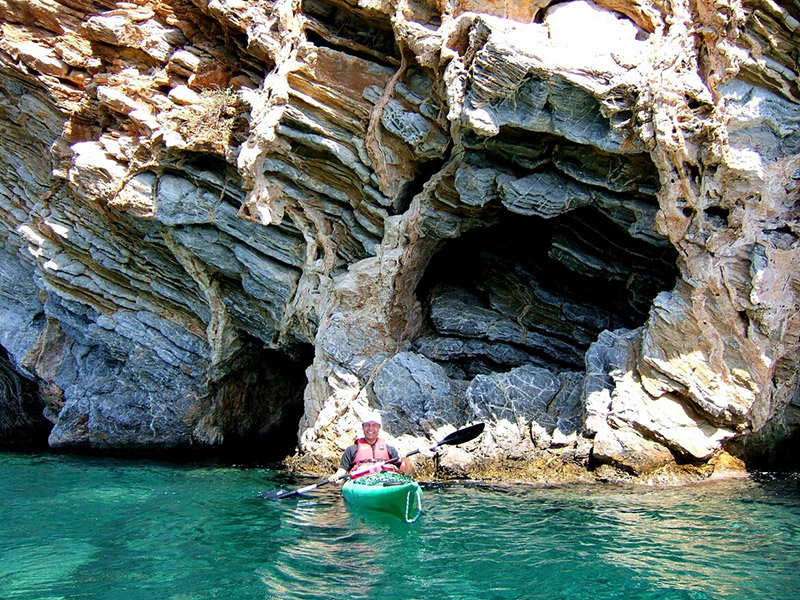 Sea-Kayaking-on-Poros-Greece