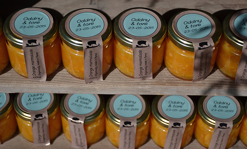 Orange-marmalade-wedding-present-Odyssey-Poros-Greece