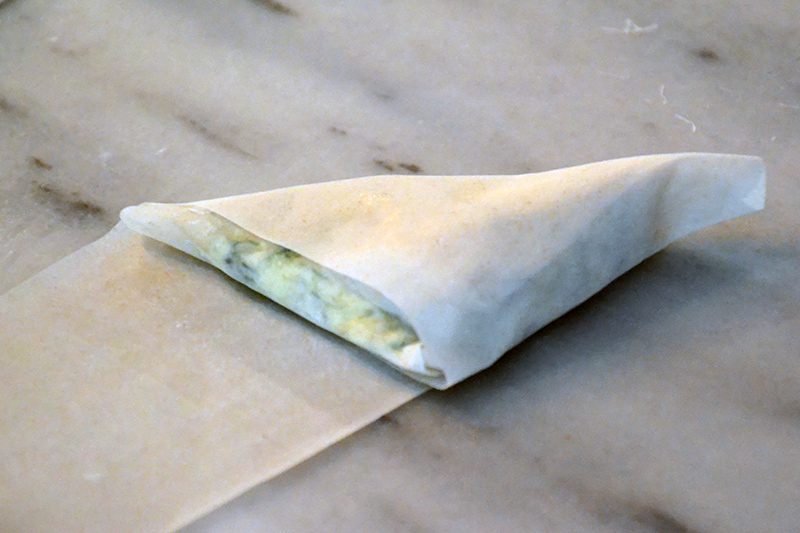 Greek Spanakopitakia Spinach Triangles