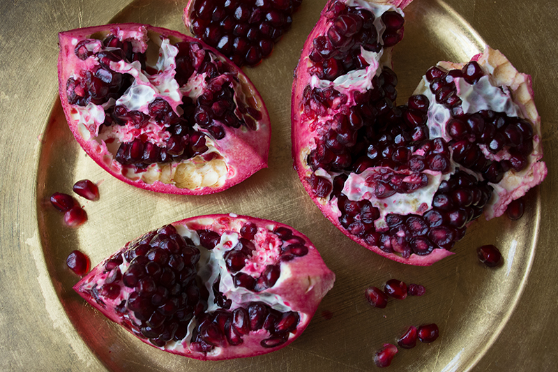 Pomegranates from the Greek island of Poros