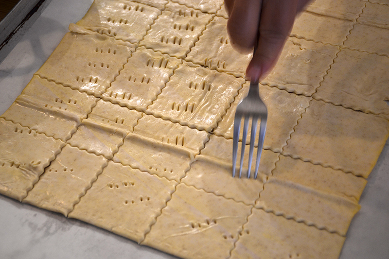 Preparing-the-dough-for-the-Greek-Mille-Feuille-Odyssey-Poros-Greece