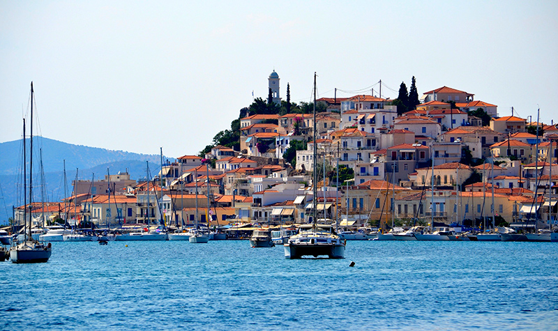 Romantic Poros-town Greece Valentine's Day