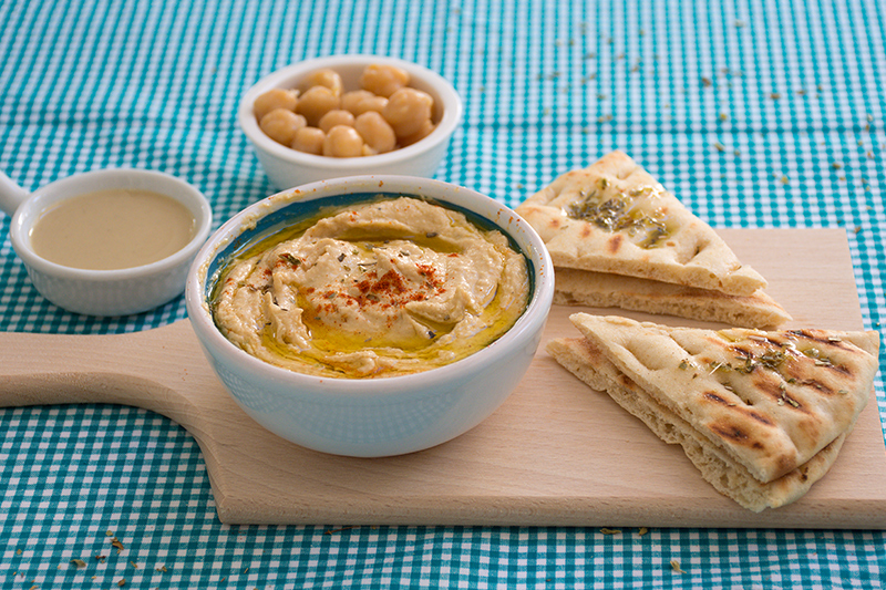 Hummus from Greece Poros Odyssey food photography
