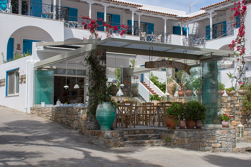 Odyssey Bistro on Poros Greece