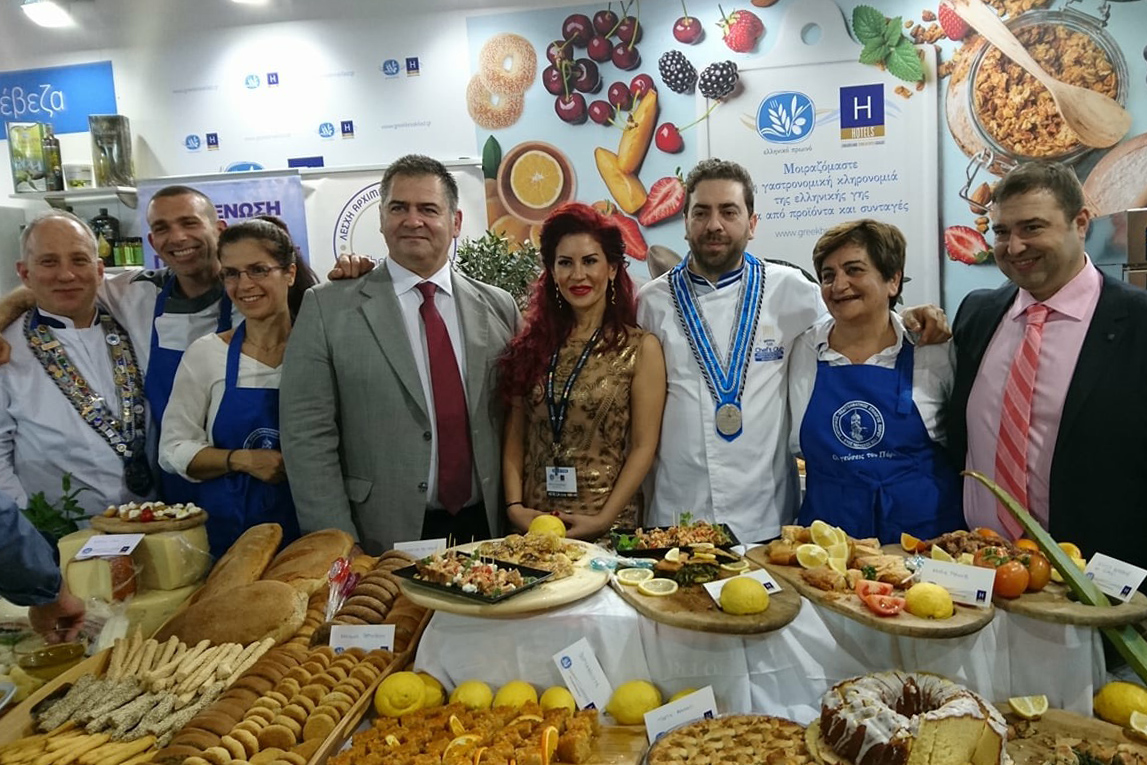 Greek Breakfast 2018 promoting Poros