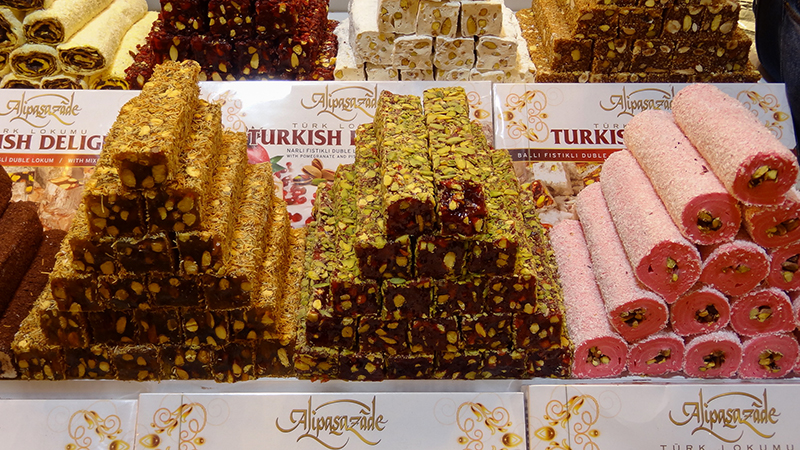 Turkish Delight historical novel The Embroiderer - Kathryn Gauci