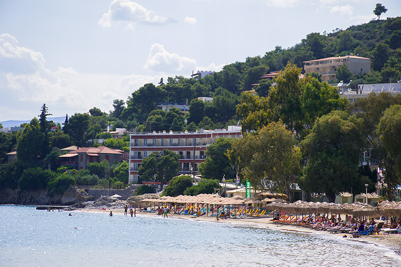Askeli Beach Poros Greece Odyssey
