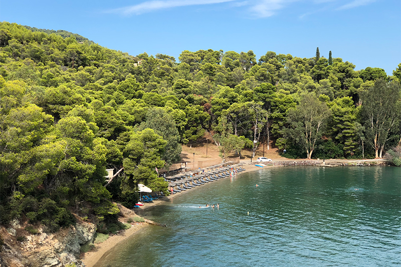 Mikro Neorio top 10 beaches on Poros Greece