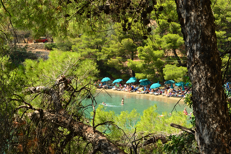 Top 10 beaches on Poros Greece Love Bay