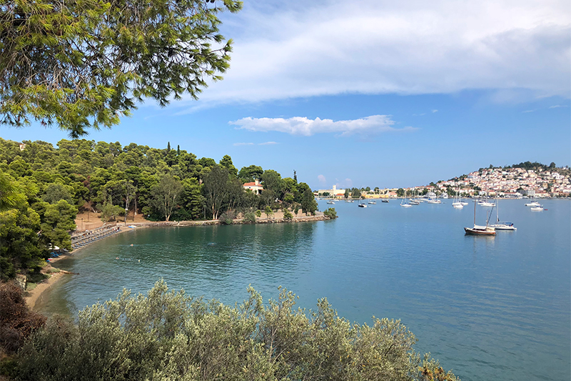 Top 10 beaches on Poros Greece Mikro Neorio