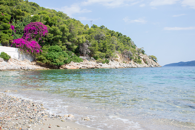 Top 10 beaches on Poros Greece Panagitsa