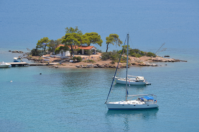 Top 10 beaches on Poros Russian Bay Greece Odyssey