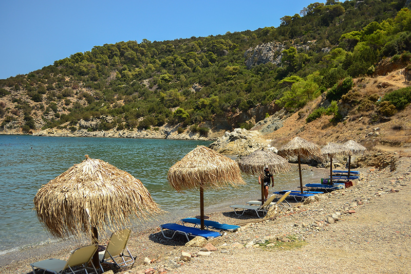 Vayonia Bay Poros Greece Top 10 beaches