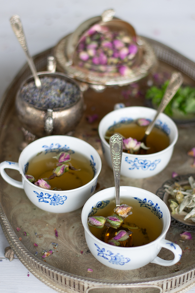Relaxing tea from Katerina