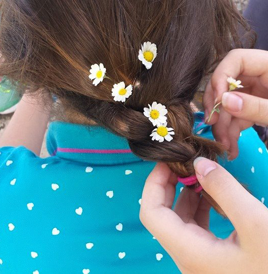 Celebrating-the-first-of-May-with-flowers-in-your-hair
