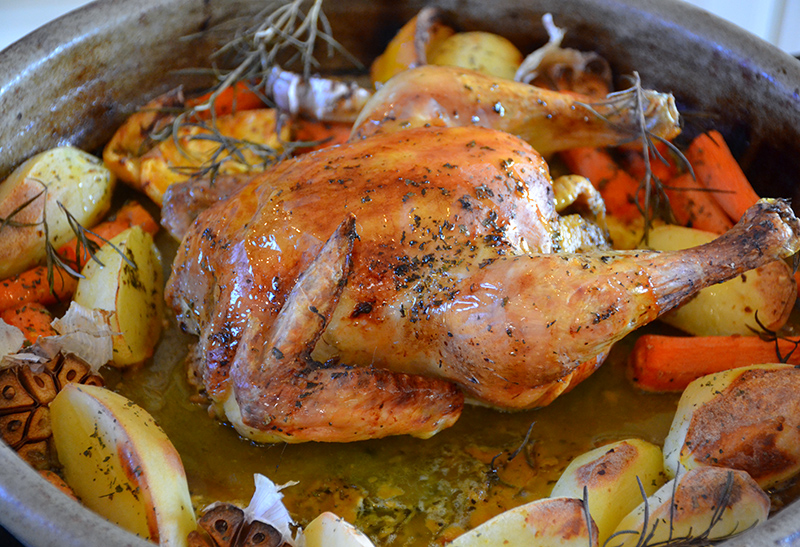 Oven Roasted Chicken With Potatoes Katerina S Kouzina,Black White And Brown Living Room Ideas