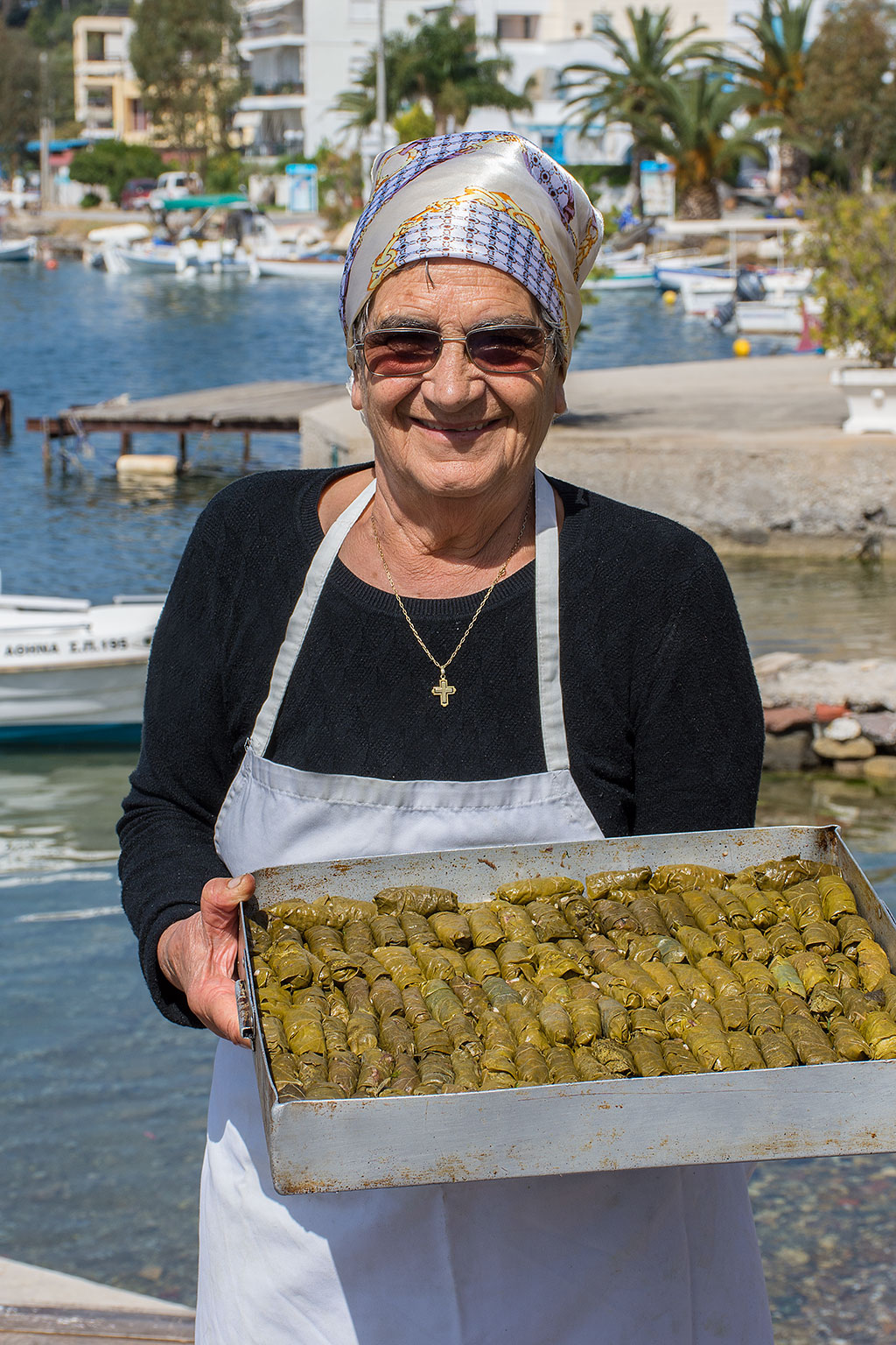 Enormous amounts of Greek Dolmades