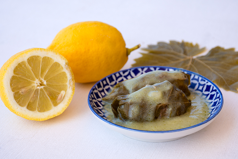 Odysseys-greek-dolmades-with-egg-lemon-sauce