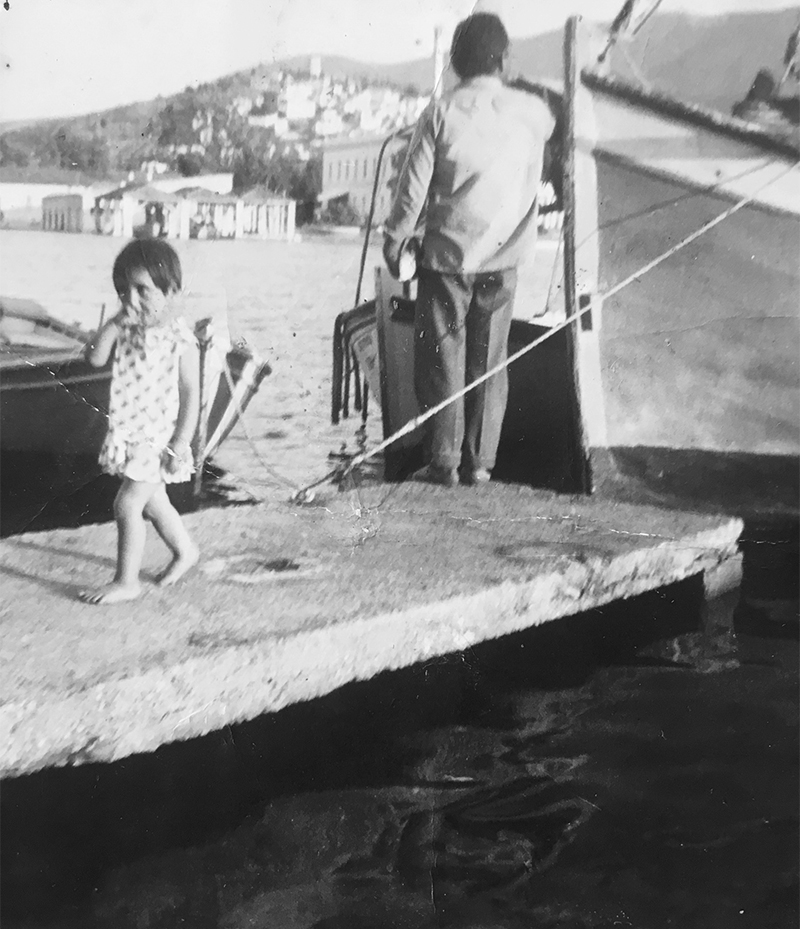 katerina-and-father-on-poros-greece