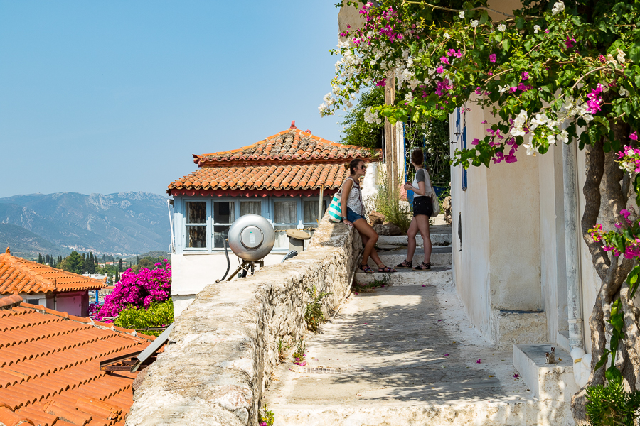 Discovering Poros-town on Poros Greece