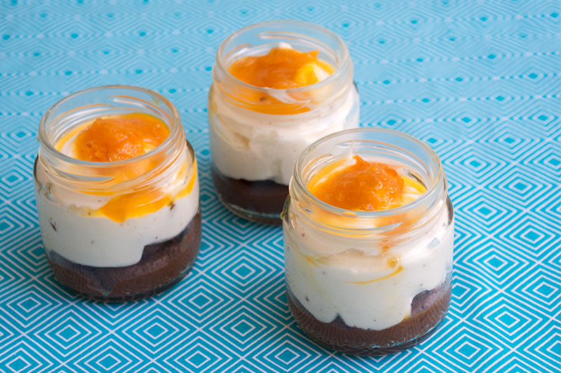 Katerinas chocolate mousse with orange marmalade Odyssey Poros Greece