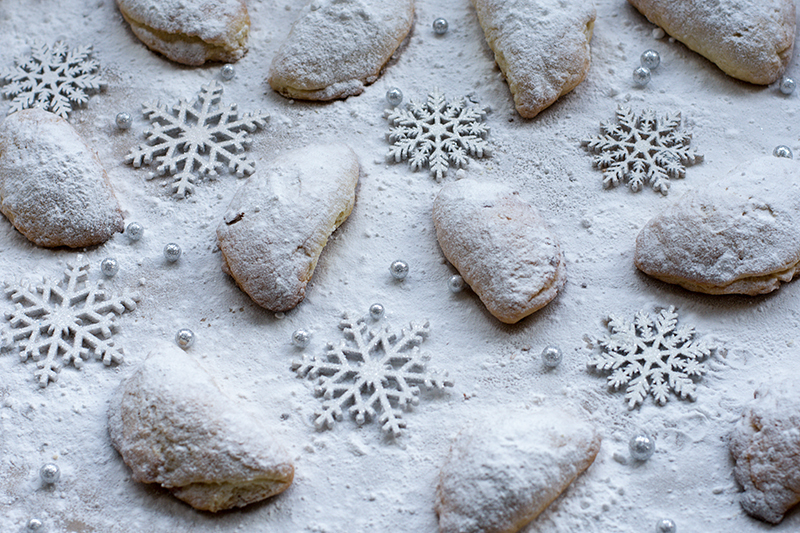 Greek Skatsounia Christmas Cookies Poros Odyssey Greece food photography