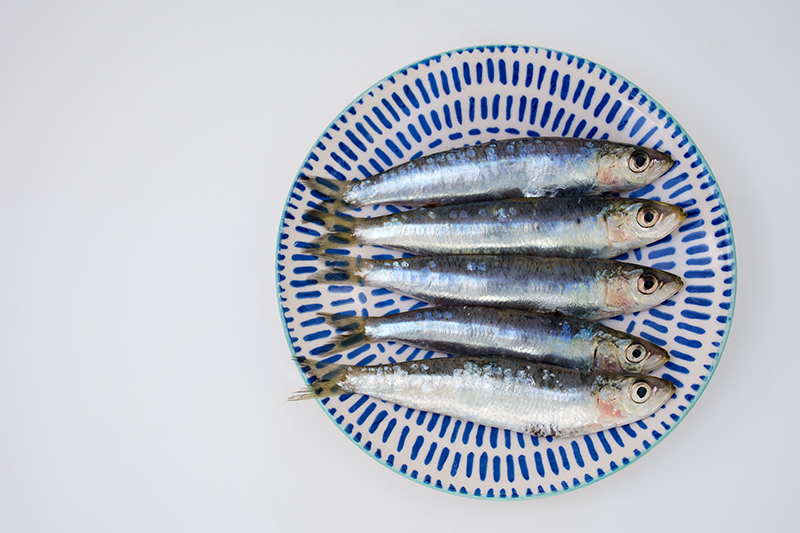 Sardines recipe Odyssey Poros Greece
