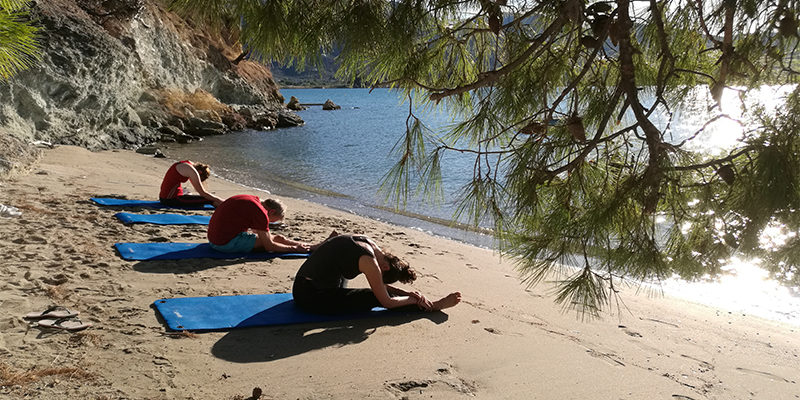 Yoga holiday on Poros Greece Odyssey