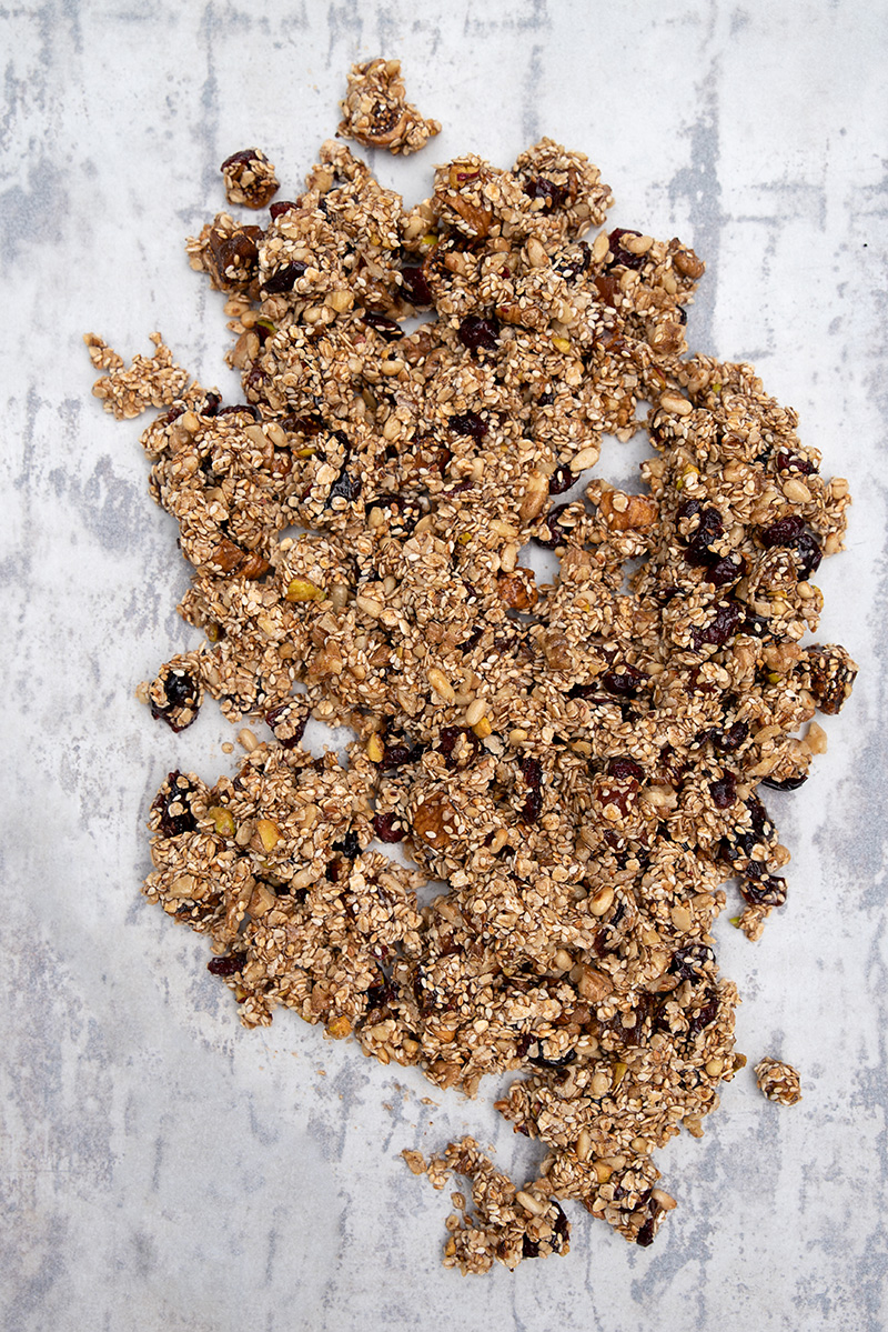 Greek granola Christmas recipes Poros Greece