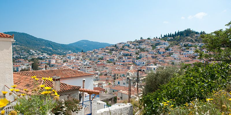 Greece: Poros-town on the island of Poros