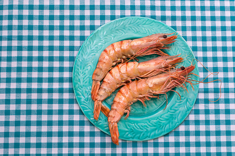 Prawns for the Greek Prawn Saganaki
