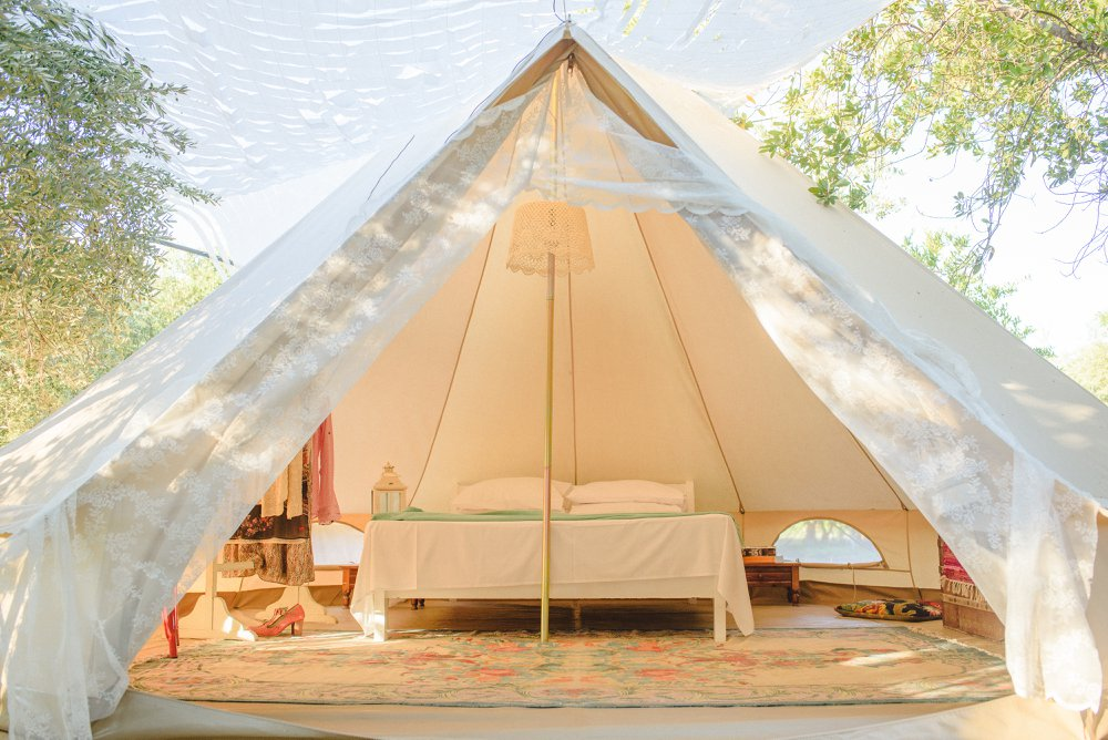 Glamping Odyssey at the olive farm