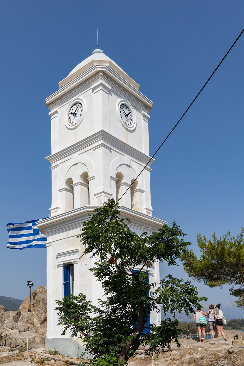 Clock tower top 5 things to do on Poros